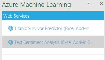 Sentiment analysis with Excel – Data & Analytics